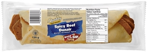 Quality Donair Spicy Beef Sandwich 1/135g Sugg Ret $6.49
