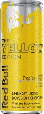 Red Bull 355 ml Edition Yellow Tropical 24/355ml Sugg Ret $4.59