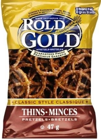 Rold Gold 40g Classic Style Pretzels 40's Sugg Ret $1.50