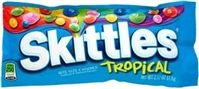 Skittles Bar Size Tangy Tropical  36/61g Sugg Ret $1.89
