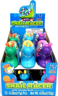 Snail Racer Candy 12/11g Sugg Ret $2.29