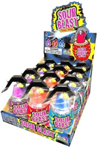 Sour Blast Grenade Spray Candy 12/42g Sugg Ret $2.79
