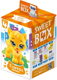 Sweet Box Kitty Surprise Toy Collections with Candy 10/10g Sugg Ret $3.99
