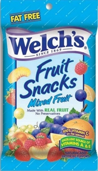 Welch's Mixed Fruit 12/140g Sugg Ret $3.89