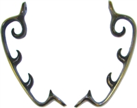 AD-5276 Morris Chair Brackets - Antiqued Finish