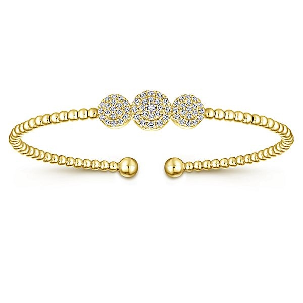 bracelet carat gold diamond natural yellow bangles tradesy i bangle