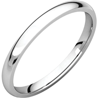 A classic 14k thin wedding band.