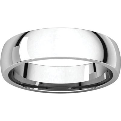 14k men's wedding band with 5mm thickness.