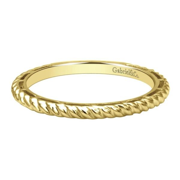 Stackable Gold Band Rings