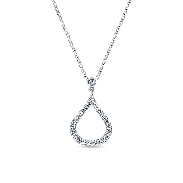 necklace raindrop hokise whitegold grande image product products