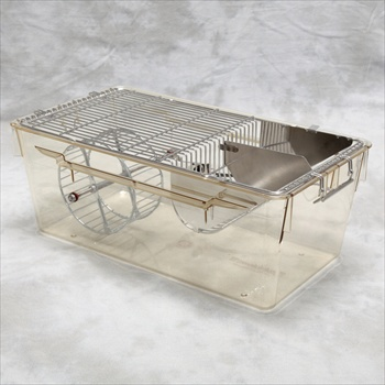 MOUSE CAGE WITH RUNNING WHEEL - MS