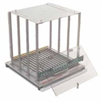 TEST CAGE - RAT - INCLUDES INFUSION AND STIMULATION LID, REQUIRES FLOOR PURCHASED SEPARATELY