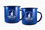 2 for $20.00 Enamel Camping Mugs