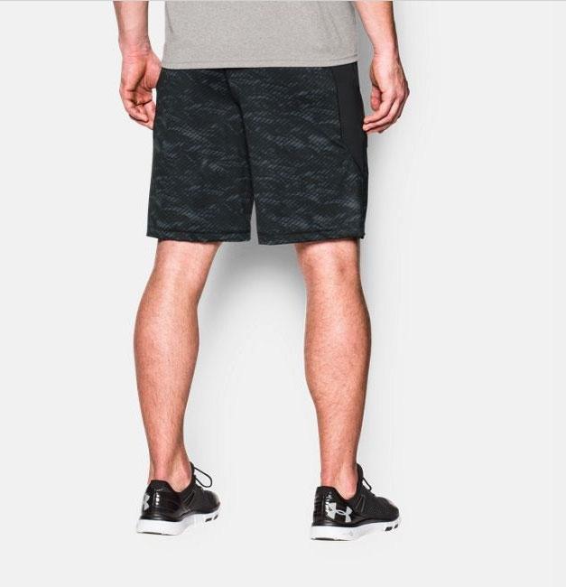 74269209cc71a Under Armour Men's Raid Printed 10'' Shorts Black 1253528-011