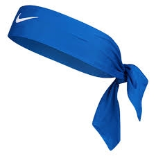 Nike Dri-Fit Head Tie 2.0 Royal White 824a79a151b
