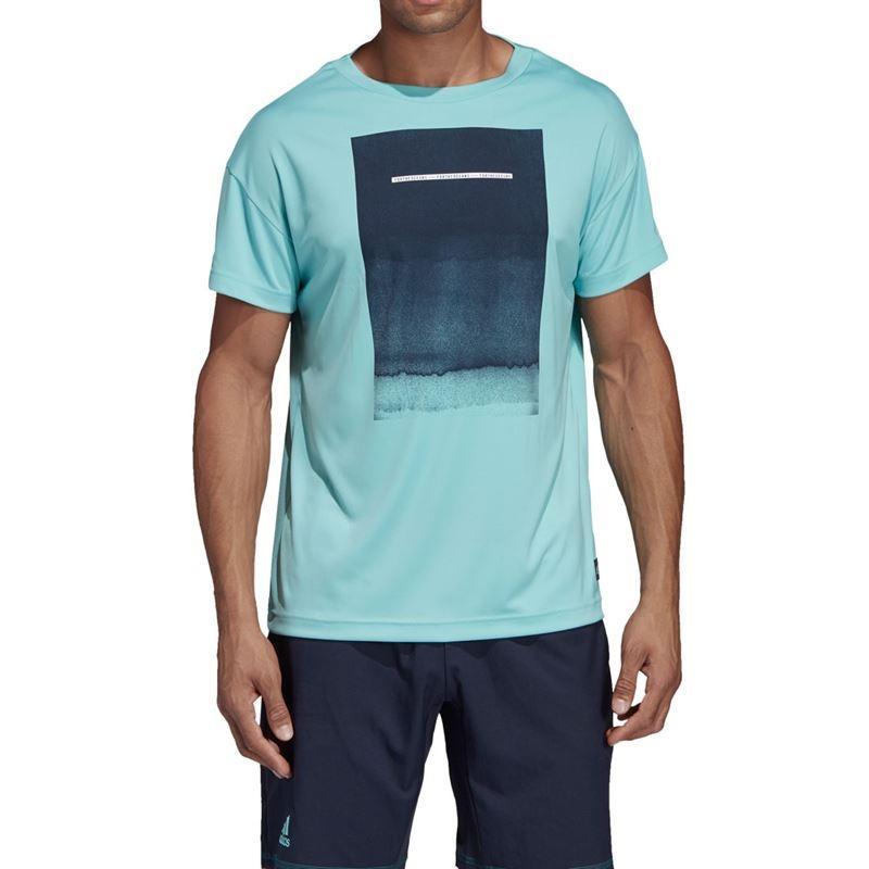 Adidas Parley Graphic Men's Tennis Tee