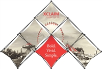 10' Xclaim Pyramid Kit 01