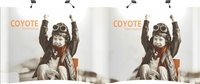 20' Coyote Popup Display Gullwing Full Mural