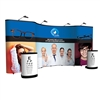 20' Full Graphic Mid-curve Pop Up Display