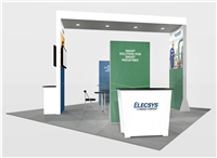 LL1 - 20x20 Backlit Rental Booth