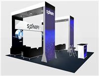 LL2 - 20x20 Backlit Rental Booth