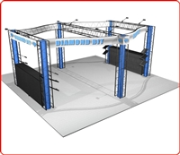 20x20 Diamond Truss Rental