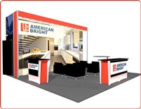 LL23 - 20x20 Booth Rental