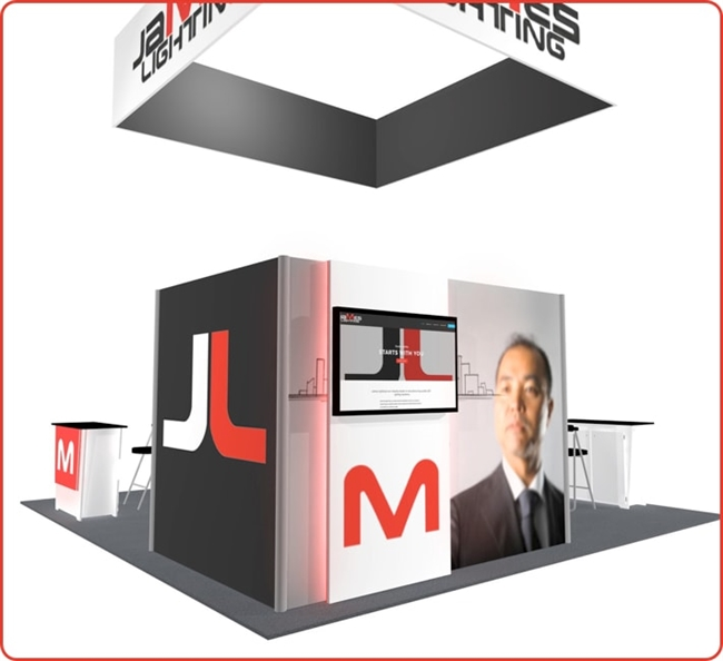 LL41 - 20x20 Booth Rental