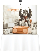 6' Coyote Tabletop Curve Full Mural