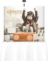 6' Coyote Tabletop Straight Full Mural