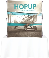 6' Hopup Tabletop Curve w/ Face Graphic