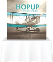 6' Hopup Tabletop Straight w/Front Graphic