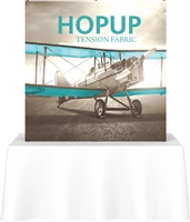 6' Hopup Tabletop Straight w/Wrap Graphic