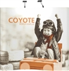 8ft Serpentine Coyote Popup Display Full Mural