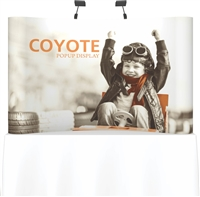 8' Coyote Tabletop Curve Full Mural
