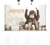 8' Coyote Tabletop Straight Full Mural