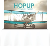 8' Hopup Tabletop Straight w/Front Graphic