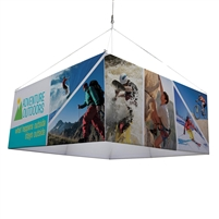 8' Square Hanging Banner Kit