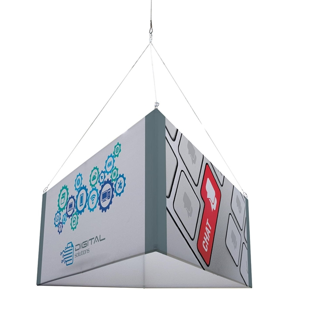 8' Triangle Hanging Banner Kit
