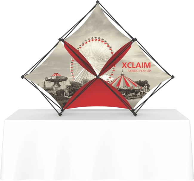 8' Xclaim Tabletop Pyramid Kit 2