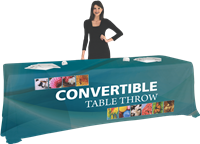 8' Convertible Table Throw