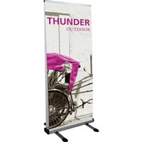 Thunder Outdoor Retractable Banner