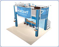 Mercent - 20x20 Double Deck Rental