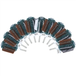 Mini Mounted Abrasive Buff Sets