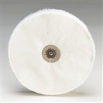 Loose White Muslin Buffs - Leather Center