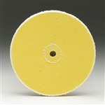 "Loose Yellow Muslin Buffs - 3/8"" Arbor Holes"