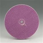 "Loose Plum Muslin Buffs - 3/8"" Arbor Hole"