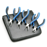Ergonomic Plier Set with Vinyl Case