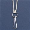 Silver-Plated Loupe Chain