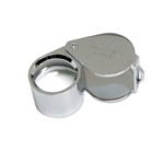Grobet USA® 10X Single Lens Loupe, Chrome
